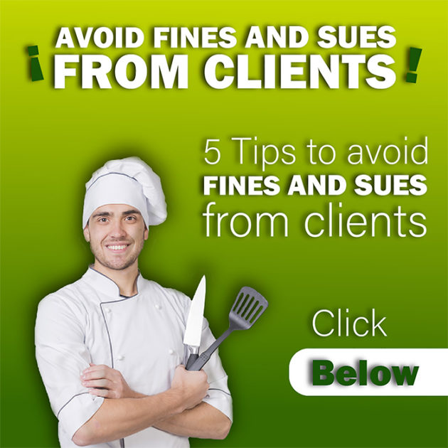how to avoid restaurant fines