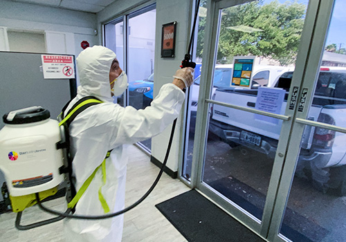 Commercial and House Sanitizing and Disinfection Services - Commercial Sanitizing/Disinfection Services
