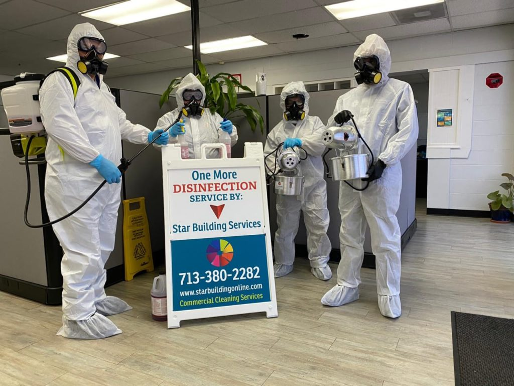 disinfection and sanitizing services to combat Coronavirus 1024x768 - How To Choose A Commercial Cleaning Company In Houston For 2021