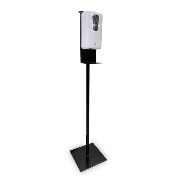 desinfection station plus hands gel sanitizer dispenser 1 630x630 - Metal Floor Stand And Touch Free Dispenser(Combo)