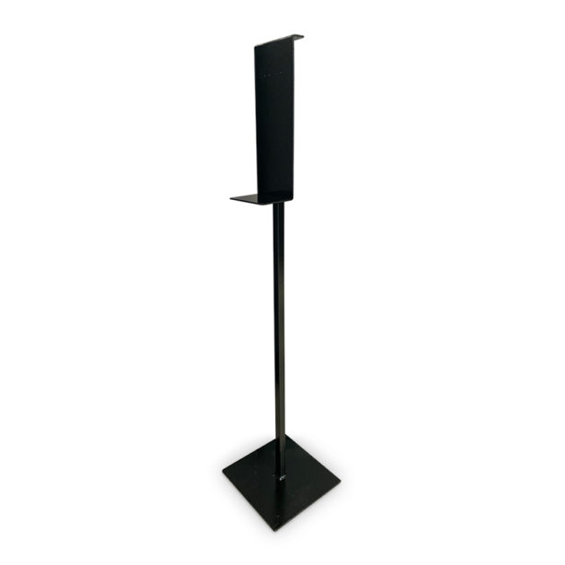 desinfecton station for dispenser 2 630x630 - Metal Floor Stand