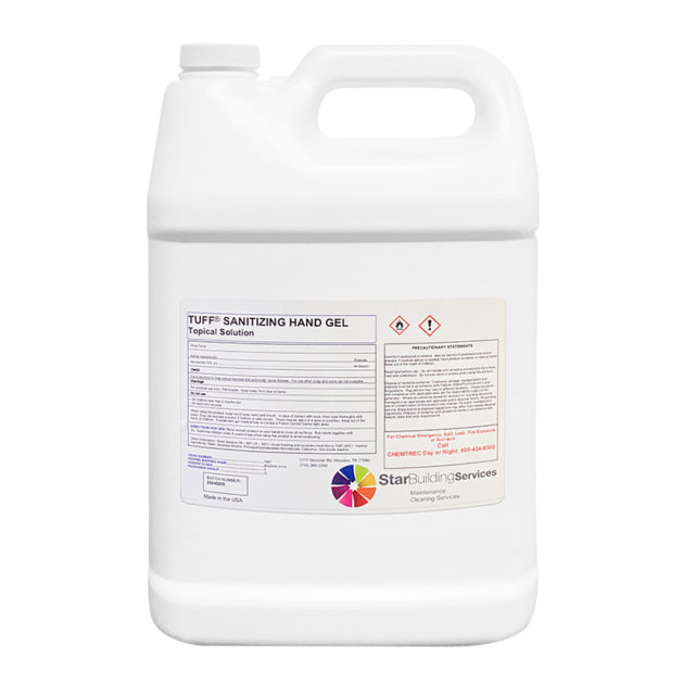jar sanitazing 2 630x630 - Liquid Hand Sanitizer - 1 Gallon - Topical Solution