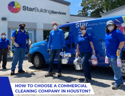 How To Choose A Commercial Cleaning Company For 2021