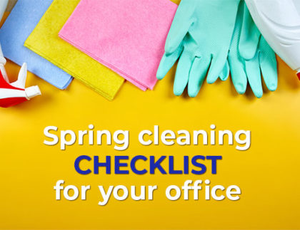 spring cleaning checklist for your office