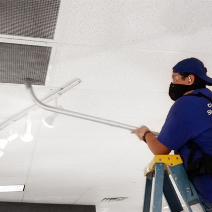 high dusting air vents cleaning - High Dusting Cleaning Services